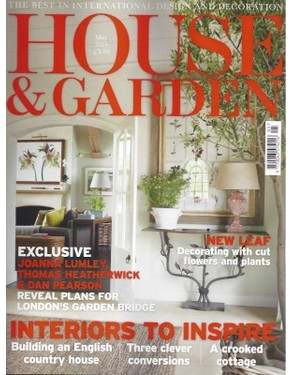 HOUSE & GARDEN APRIL 2014 - Ian Green Residential