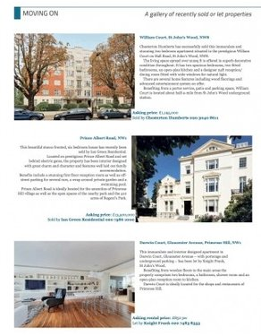 LONDON PROPERTY SOLD EDITORIAL - Ian Green Residential