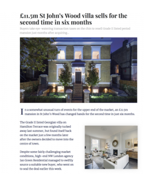 PRIMERESI.COM EDITORIAL - Ian Green Residential